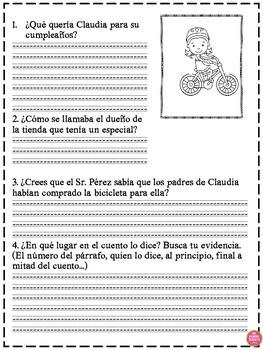 Persuasive Stories in Spanish