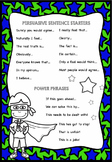 Persuasive Support Poster: Support for Independent Writing