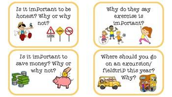 Persuasive Task Cards- Upper Primary