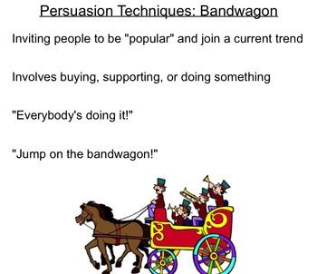 Persuasive Techniques