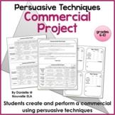 Persuasive Techniques Commercial Project
