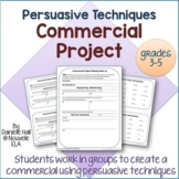 Persuasive Techniques Commercial Project (3-5)