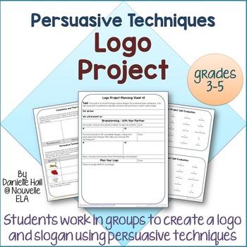 Persuasive Techniques Logo Project (3-5)