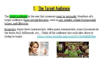 Persuasive Techniques Presentation with Video