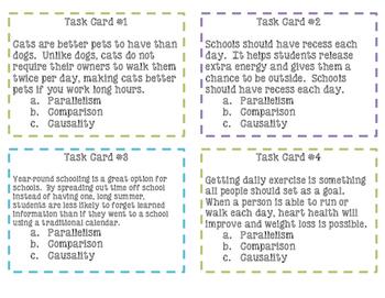 Persuasive Techniques Task Cards