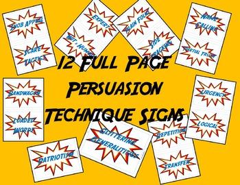 Persuasive Techniques - Used In Advertising & Propaganda