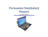 Persuasive Techniques Vocabulary Posters