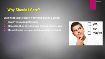 Persuasive Techniques in Advertising