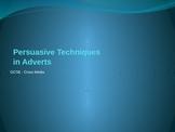 Persuasive Techniques in Adverts