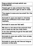 Persuasive Text - Arguments FOR and AGAINST