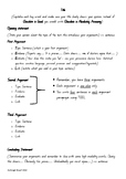 Persuasive Text Using TEEL Template