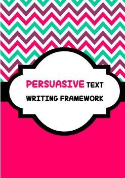 Persuasive Text Writing Framework
