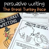 Persuasive Thanksgiving Writing