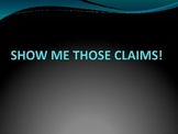 Argument Writing: Forming Claims