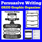 Oreo Graphic Organizer | Oreo Writing | Persuasive Writing