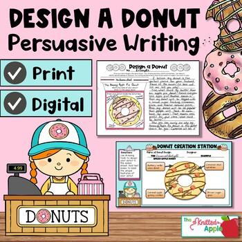 Persuasive Writing {Donut Theme}