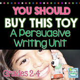 Persuasive Writing 2nd Grade & 3rd Grade