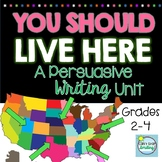 Persuasive Writing 2nd and 3rd Grade ~ Why You Should Live in My Town