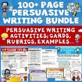 Persuasive Writing Bundle of Activities