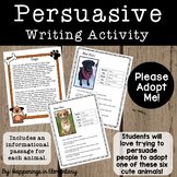 Persuasive Writing Grade 3