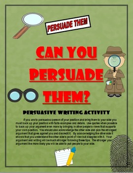 Language Arts:  How to Write a 5 Paragraph Persuasive Essay