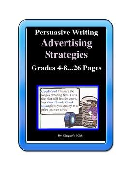 Persuasive Writing Advertising Strategies