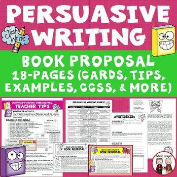 Persuasive Writing Book Proposal