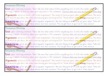 Persuasive Writing Bookmark