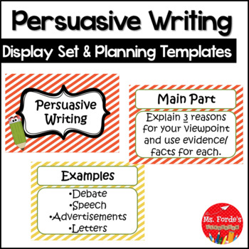Persuasive Writing Bumper Pack