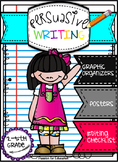 Persuasive Writing Bundle!! (Posters, Graphic Organizers, Checklists & More)