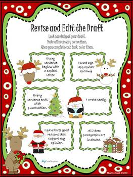 Persuasive Writing Christmas Edition A Letter to Santa