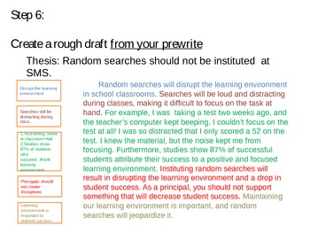 Persuasive Writing Class Lesson