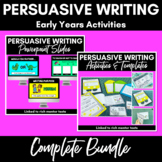 Persuasive Writing Complete Bundle