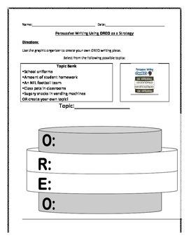 Persuasive Writing: {Complete Intro using OREO and Double Stuffed Oreo}