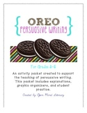 Persuasive Writing: {Complete Intro using OREO and Double