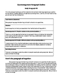 Persuasive Writing Counterargument Planner