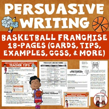 Persuasive Writing Basketball Franchise