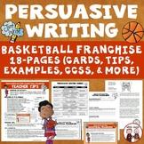 Persuasive Writing Basketball Franchise
