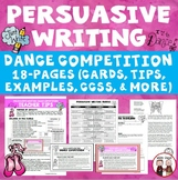 Persuasive Writing Dance Competition