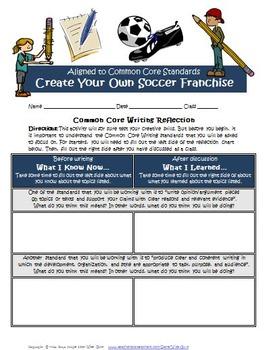 Persuasive Writing Create Own Soccer Franchise