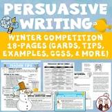 Persuasive Writing Winter Competition Venue