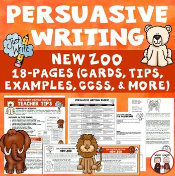 Persuasive Writing Design Zoo Exhibit