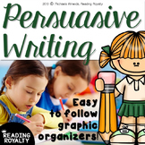 Persuasive (Opinion) Writing - Easy to follow graphic organizers!