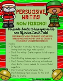 Persuasive Writing- Elf for Hire