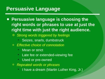 Persuasive Writing Essentials