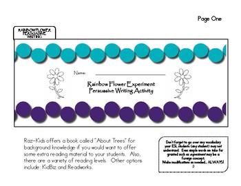 Persuasive Writing Experiment