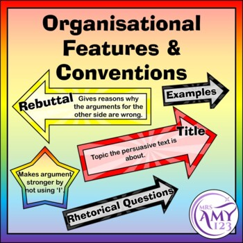 examples of organisational features