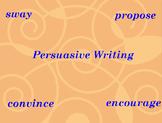 Persuasive Writing Flipchart For Interactive Whiteboard