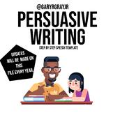 Persuasive Writing Formula