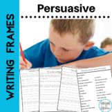 Persuasive Writing Prompts and Graphic Organizers for First and Second Grade